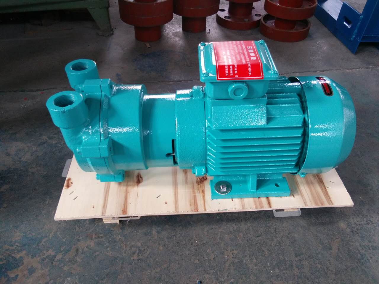 2BVC water ring vacuum pumps with compressor