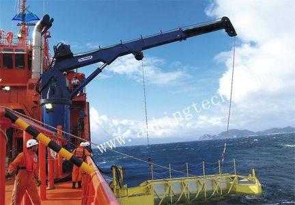 Hydraulic telescopic crane