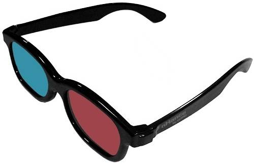 DOMO nHance CM230B Anaglyph Passive Cyan and Magenta 3D Glasses