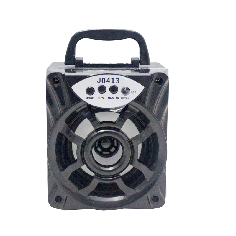 outdoor bluetooth speaker portable wireless mini square design support FM LED shinning TF/SD