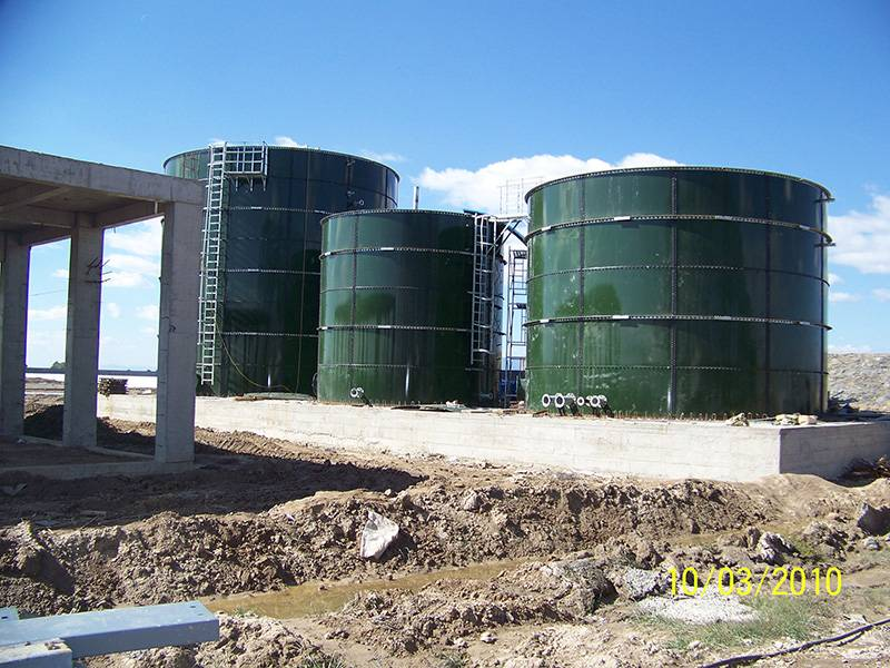 Enamel bolted wastewater treatment plant with excellent acid and alkali proof