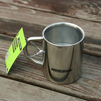 Food grade stainless steel double wall mug