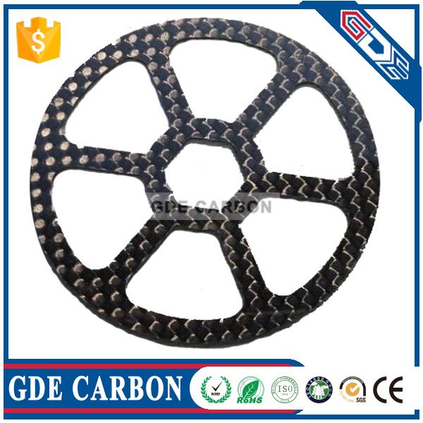 GDE Customized Carbon Fiber CNC Cutting for UAV