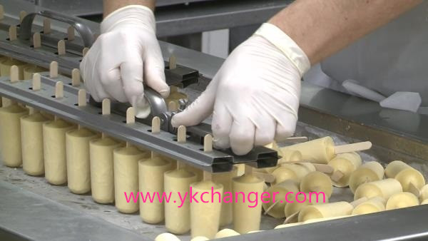 Stainless steel popsicle mold ice cream molds ice lolly mould 2x13 26sticks including stick holder