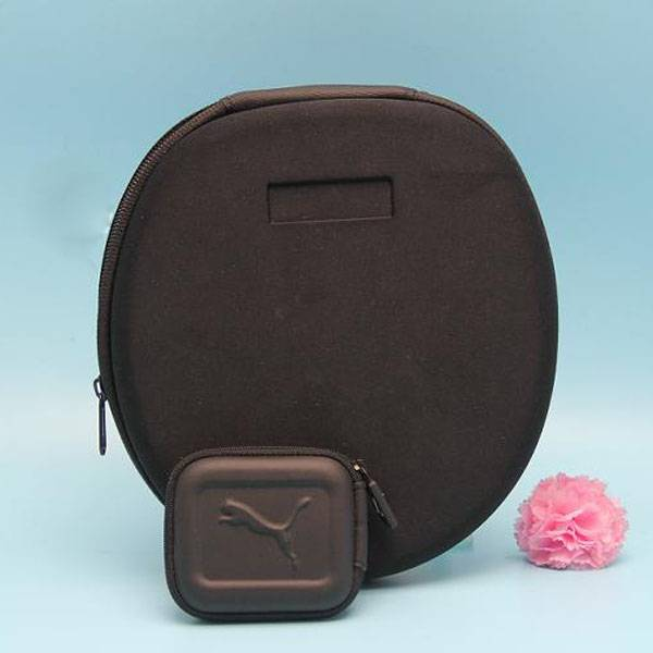 Small size eva molded hard case for headphone
