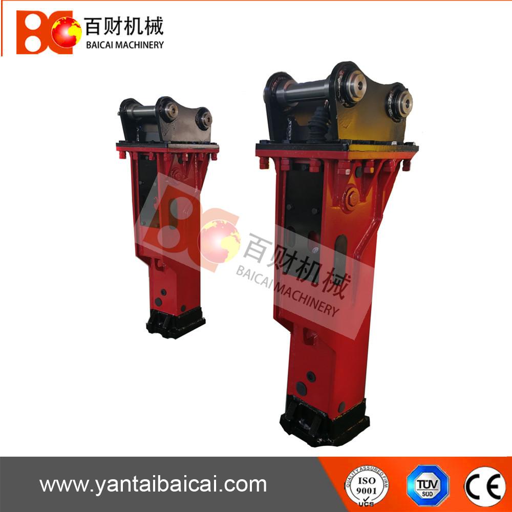 silent Small hydraulic breaker hammer for road breaking