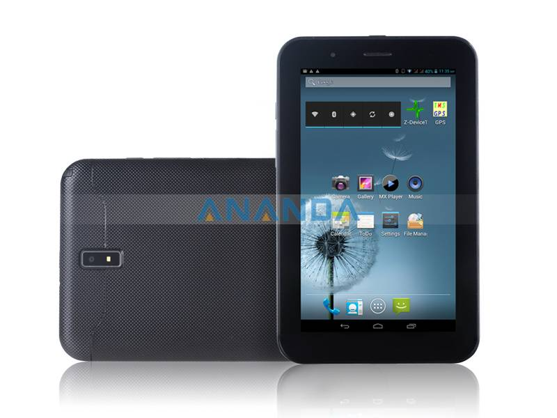7inch MTK8377 Dual Core Android 4.0 3G Dual SIM Card Phone Call Tablet PC 8377