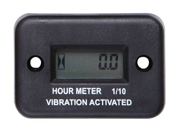 RL-HM016 Digital Waterproof LCD Motorcycle Racing Wireless Vibration Hour Meter
