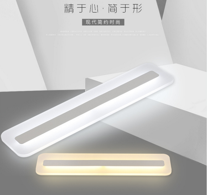 Aisle lights led ceiling lamps ultra-thin acrylic strips study bedroom lighting corridor