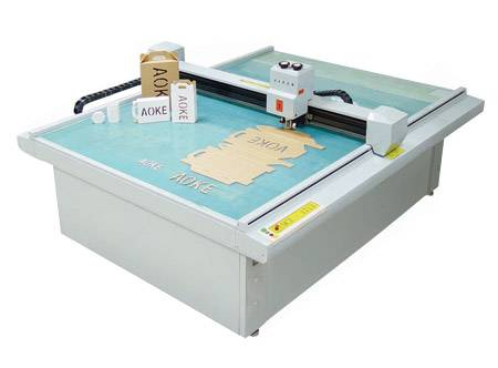 sample maker cutter plotter foam sticker short run production cutting machine cutting effect
