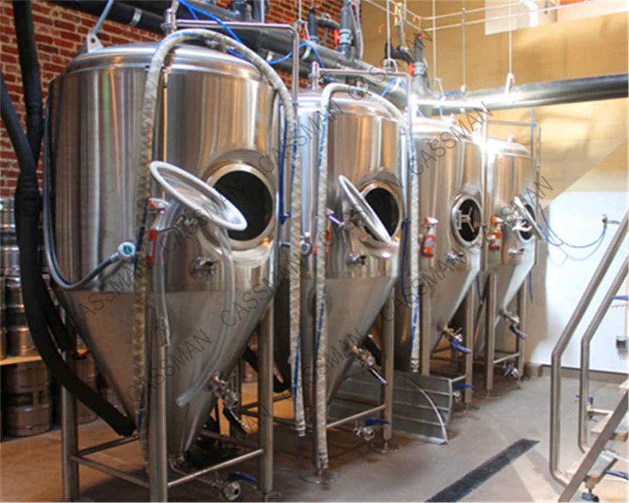 used stainless steel beer tank