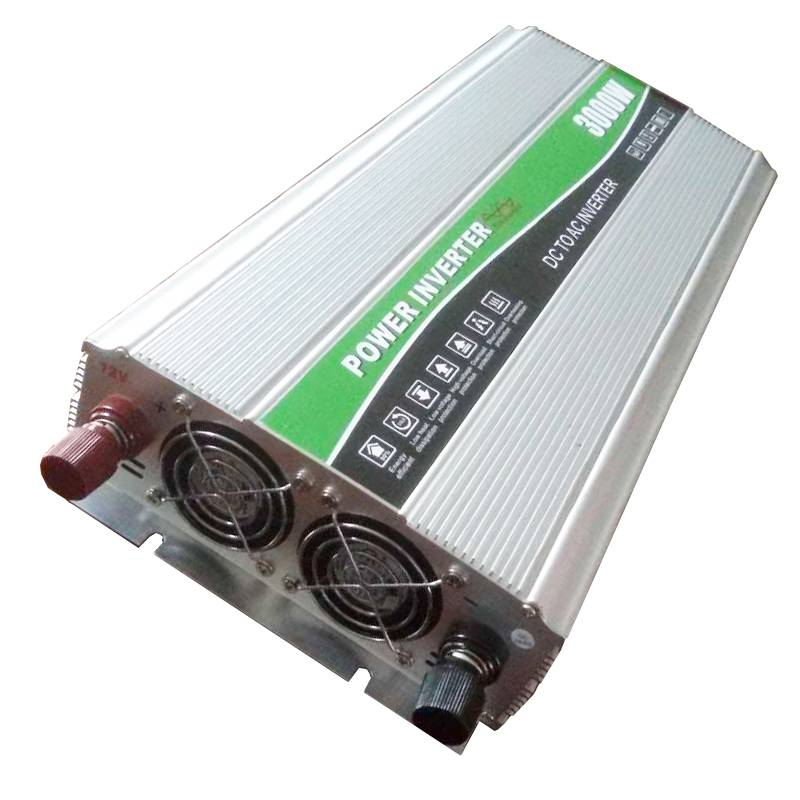 1500W 12V/24VDC 110V/220VAC DC to AC Pure Sine Wave Converter with External Fuse