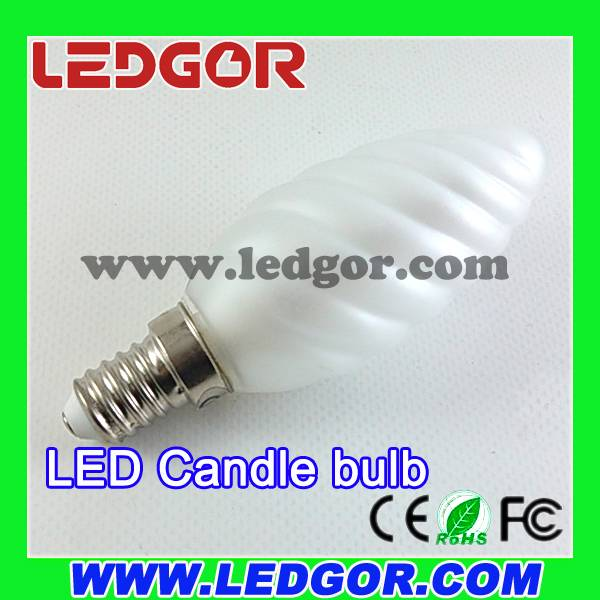 New 360 degree C35 led candle light