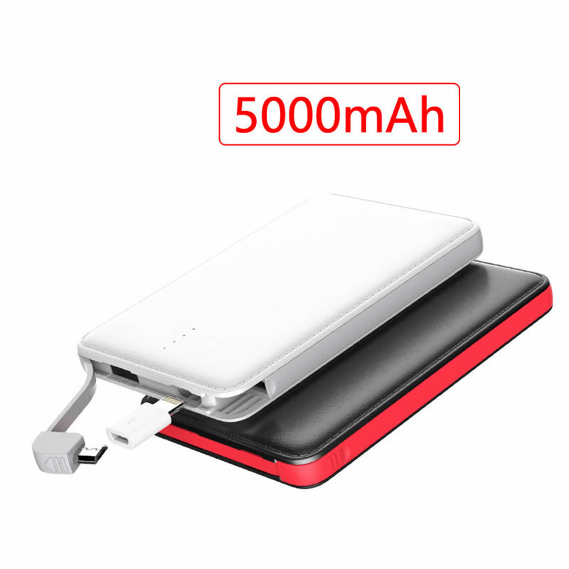 Portable small power bank charger 5000mah PW-PBL02