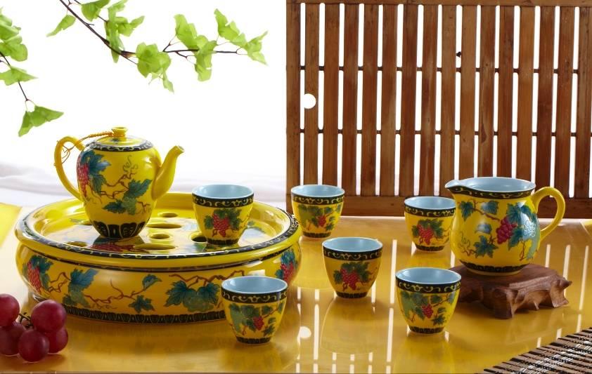 Sell environmental protection porcelain coffee & tea sets