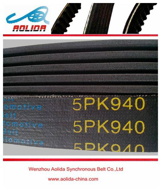 V-Ribbed Belt 5PK940 DODGE / FIAT / HONDA / LANCIA / MITSUBISHI / NISSAN / OPEL