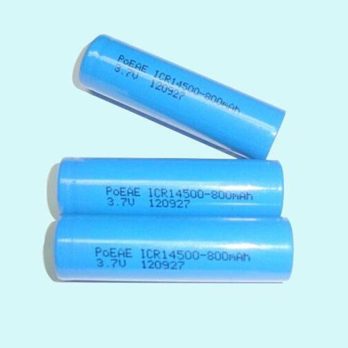 3.7V 800MAH ICR14500 Lithium-ion Battery