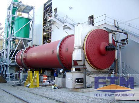 High Efficiency Rotary Drum Dryer For Metallic Powder/Top Quality Metal Powder Dryer Price