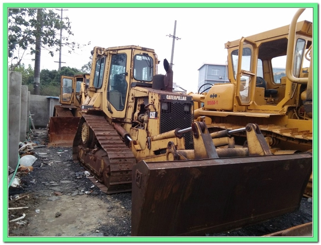 second hand Caterpillar crawler bulldozer D4H high quality for hot sale