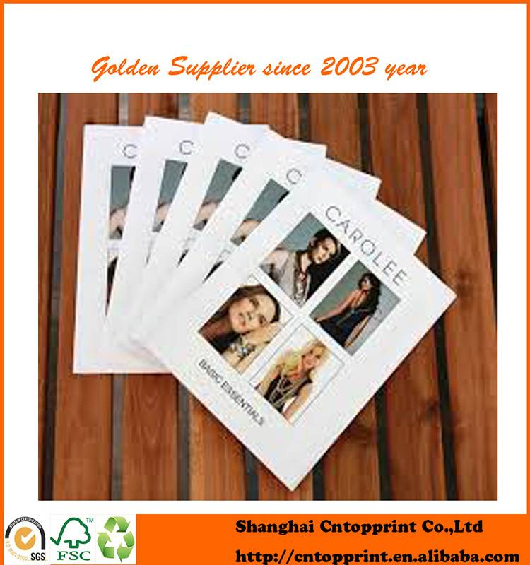 Latest Design Services Printing Quality Gold Jewelry Catalog