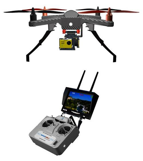 Professiona WiFi FPV 2.4G RC Quadcopter Cooler Fly 360 Rolling Drone with HD Camera