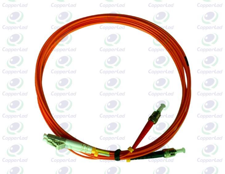Low Insertion tolerance Multimode Duplex ST/PC-LC/PC Fiber Optic Patch Cord