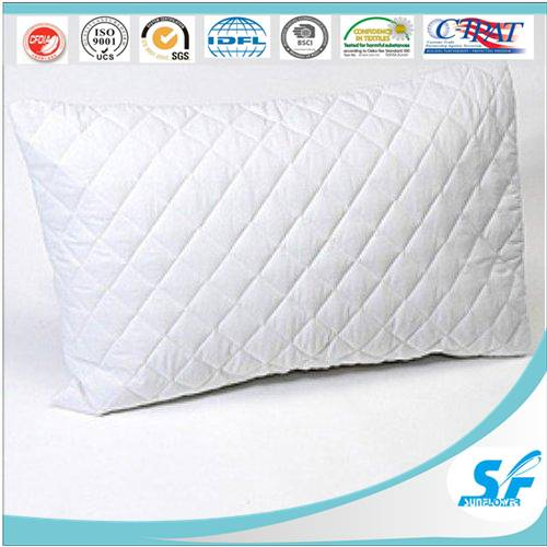 cheap square sofa bed quilting pillow cover microfiber down feather pillow