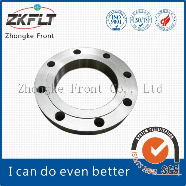 Carbon steel gas or oil pipeline flange connection