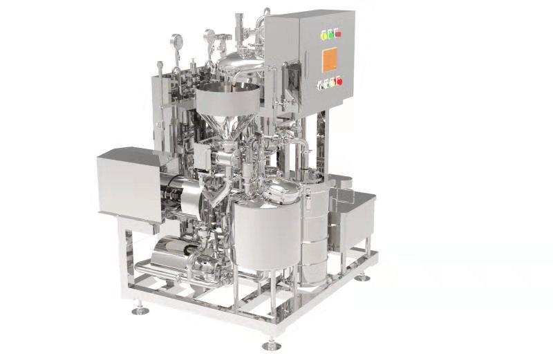 soybean milk production