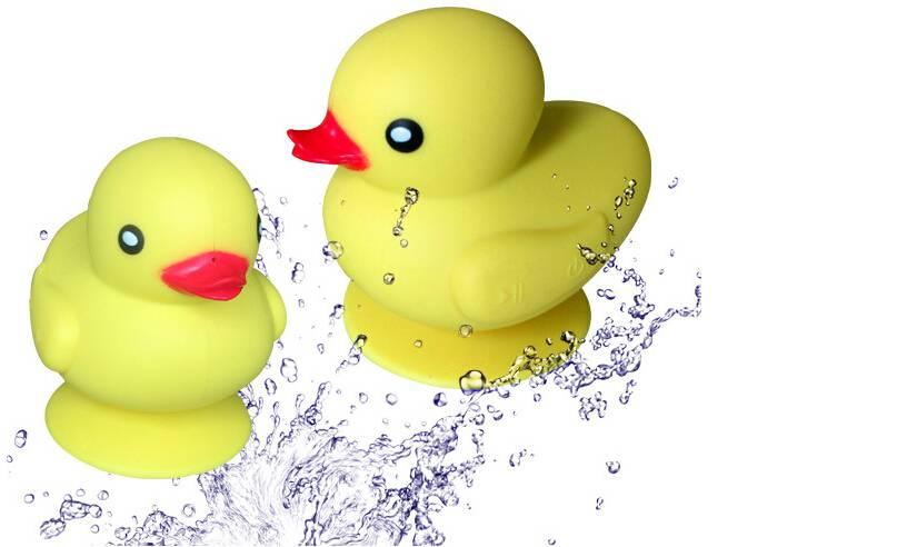 2014 Newest Best Design yellow duck Bluetooth waterproof Speaker with Hands Free Function