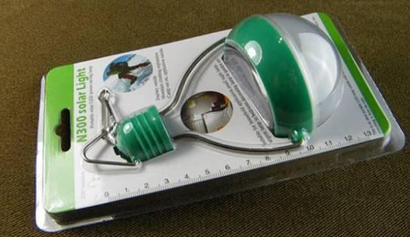 LED solar light bulb