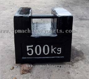 Foundry custom OIML standard M1 Class 500 kg test weight