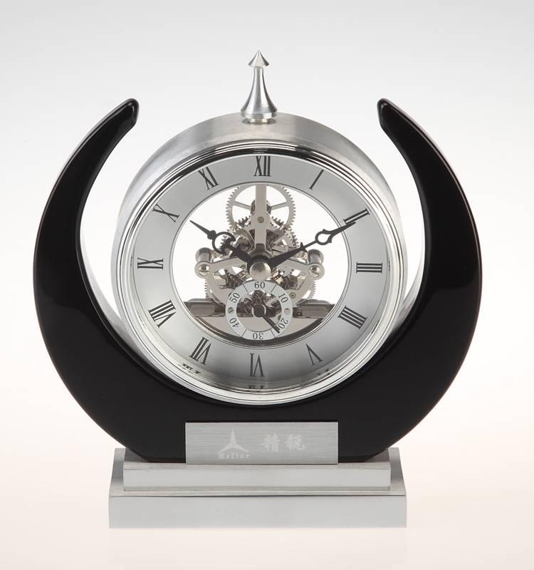 Conda Quartz wooden desk clock K8018