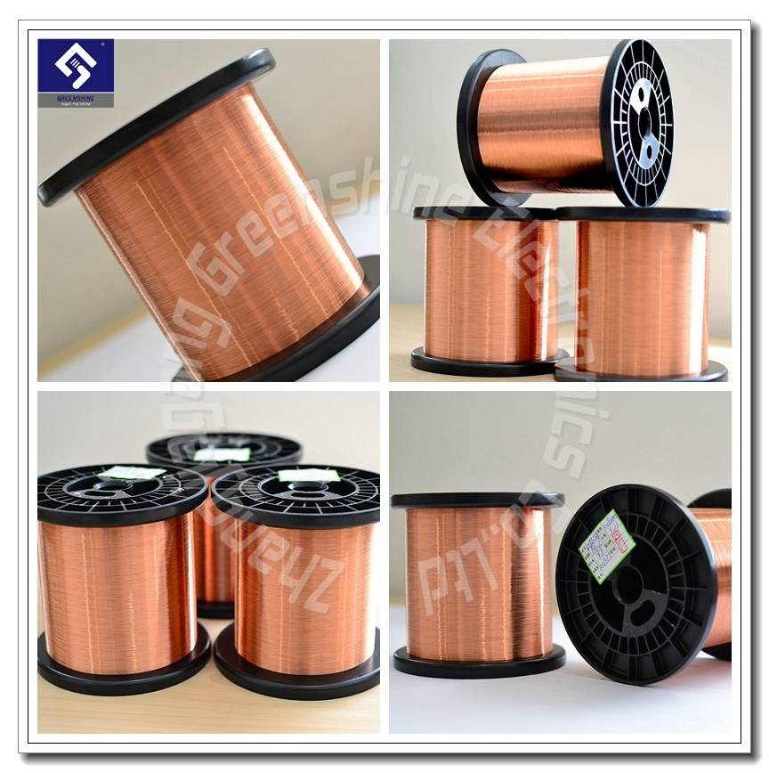 Copper clad Aluminum  (CCA) electrical wire conductor CHINA manufacturer