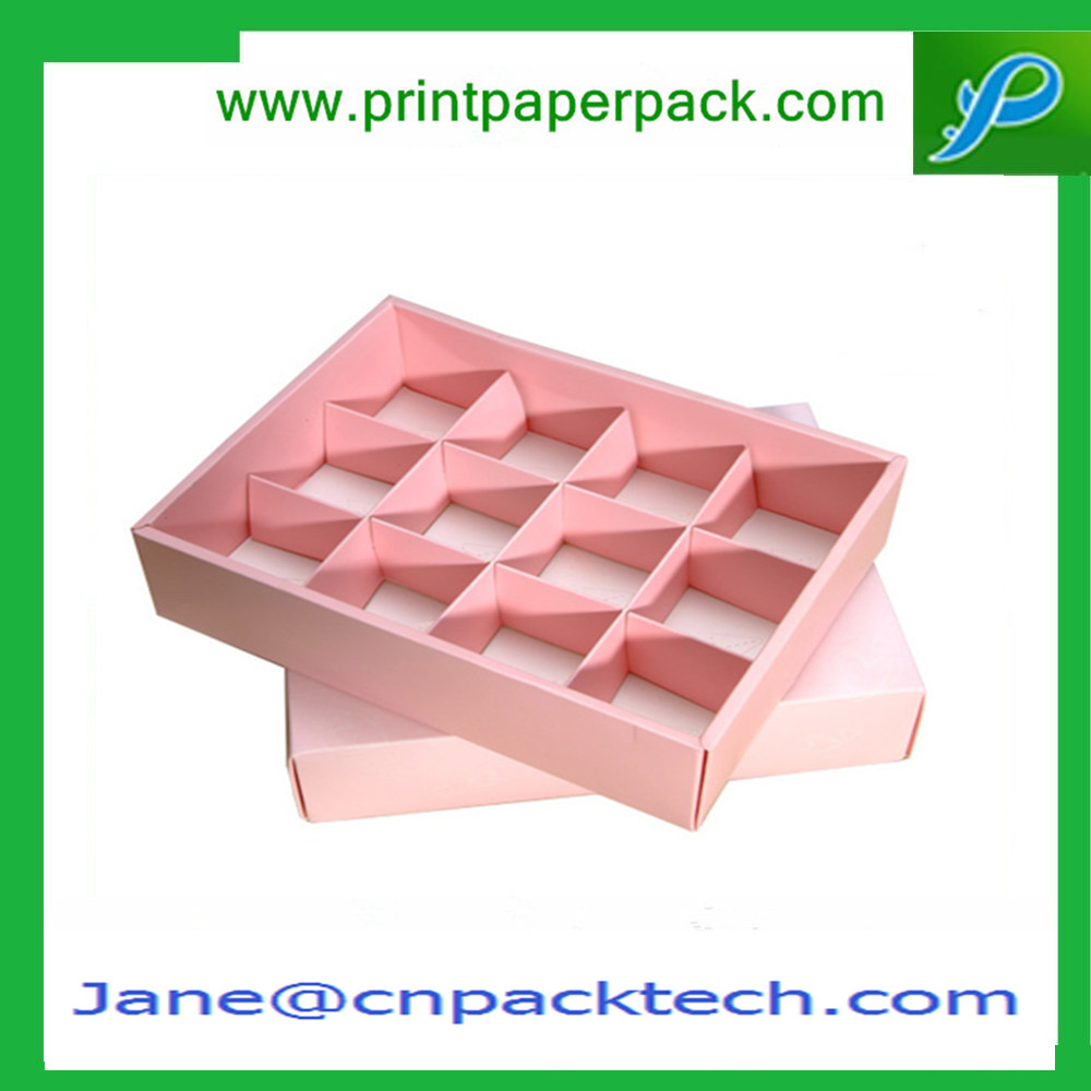 Creative Custom Printed Cardboard Candy Boxes Paper Chocolate Box with Dividers