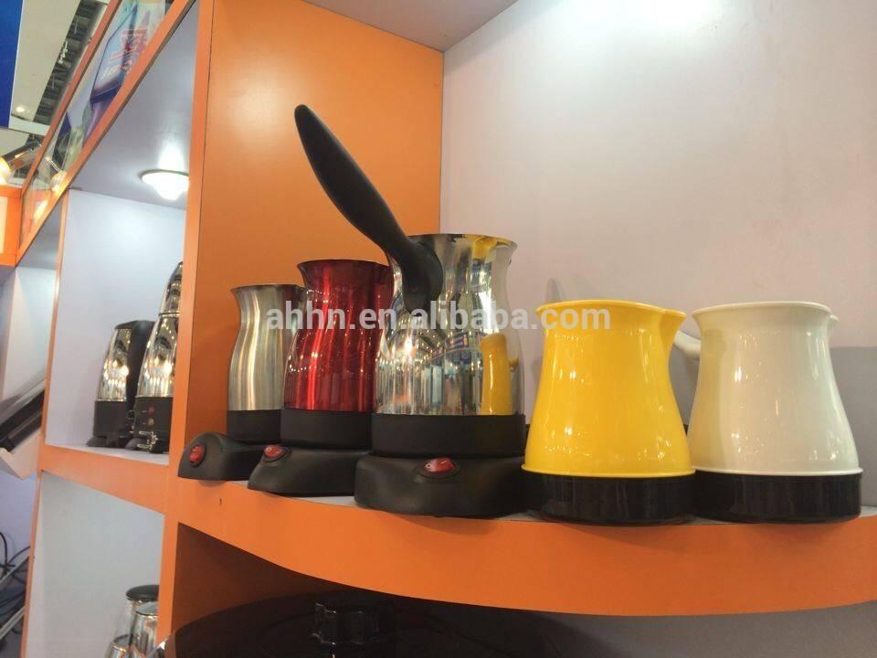 PLASTIC ELECTRIC TURKEY SMALL VOLUME COFFEE MAKER