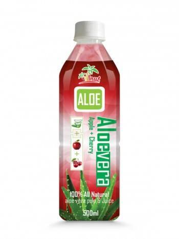 Aloe Vera Apple With Cherry