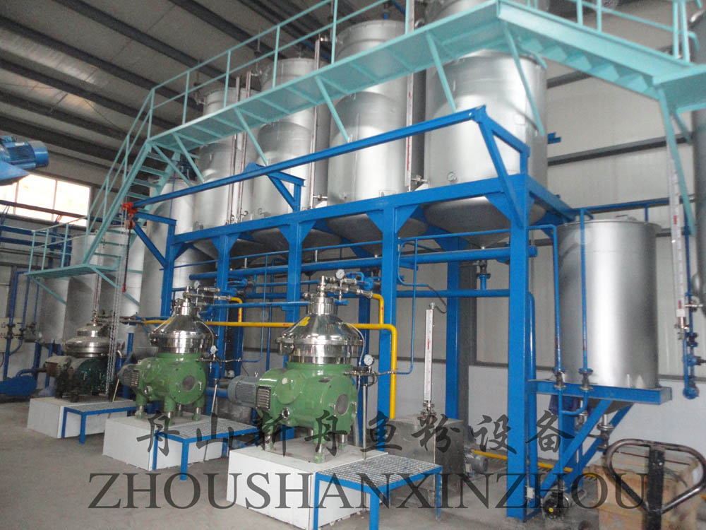fishmeal and oil production line