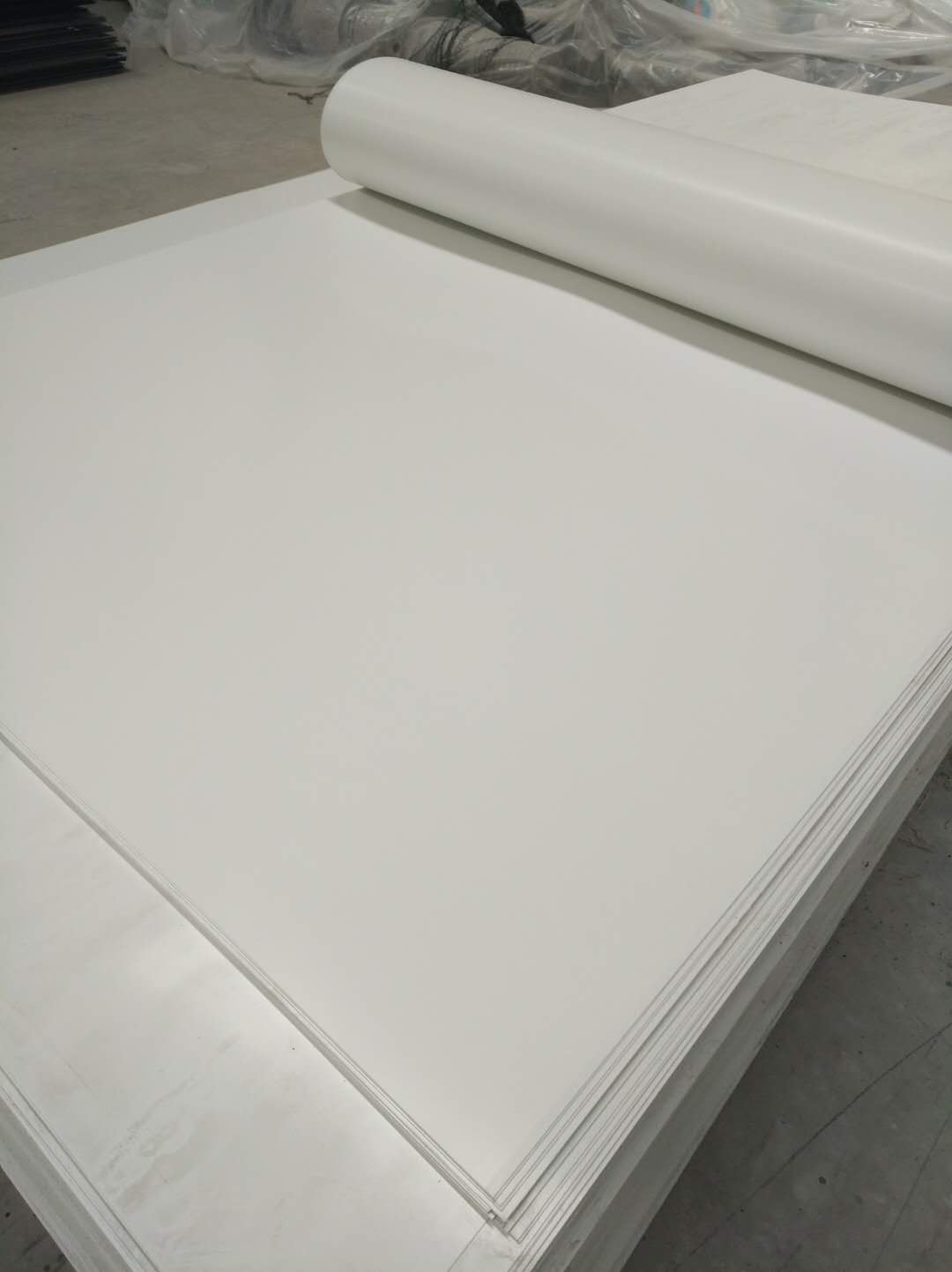 PVC Flexible Sheet with 1.0--25mm Thickness Soft PVC Sheet
