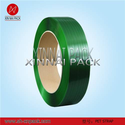 2014 Recycle Green Low Price Poly Strapping