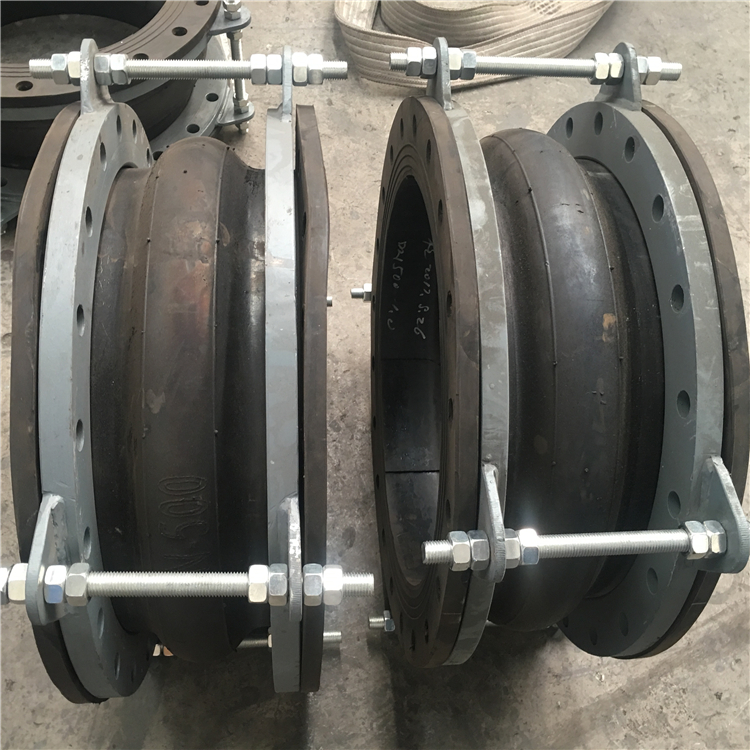DN500 spherical single ball flexibility rubber expansion joint