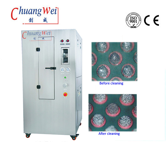 Pneumatic Stencil Cleaner,Stencil Cleaning System,CW-750