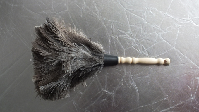 ostrich feather duster for QY 06