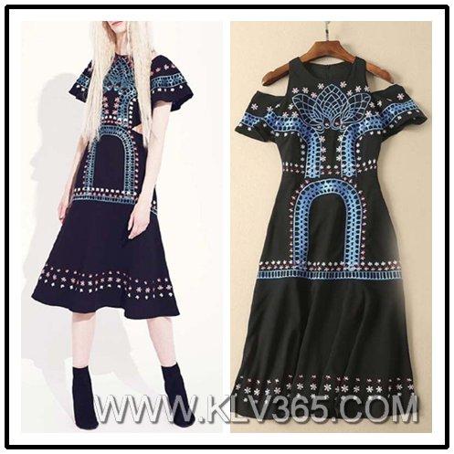 European Style Women Fashion Designer Clothes Wholesale
