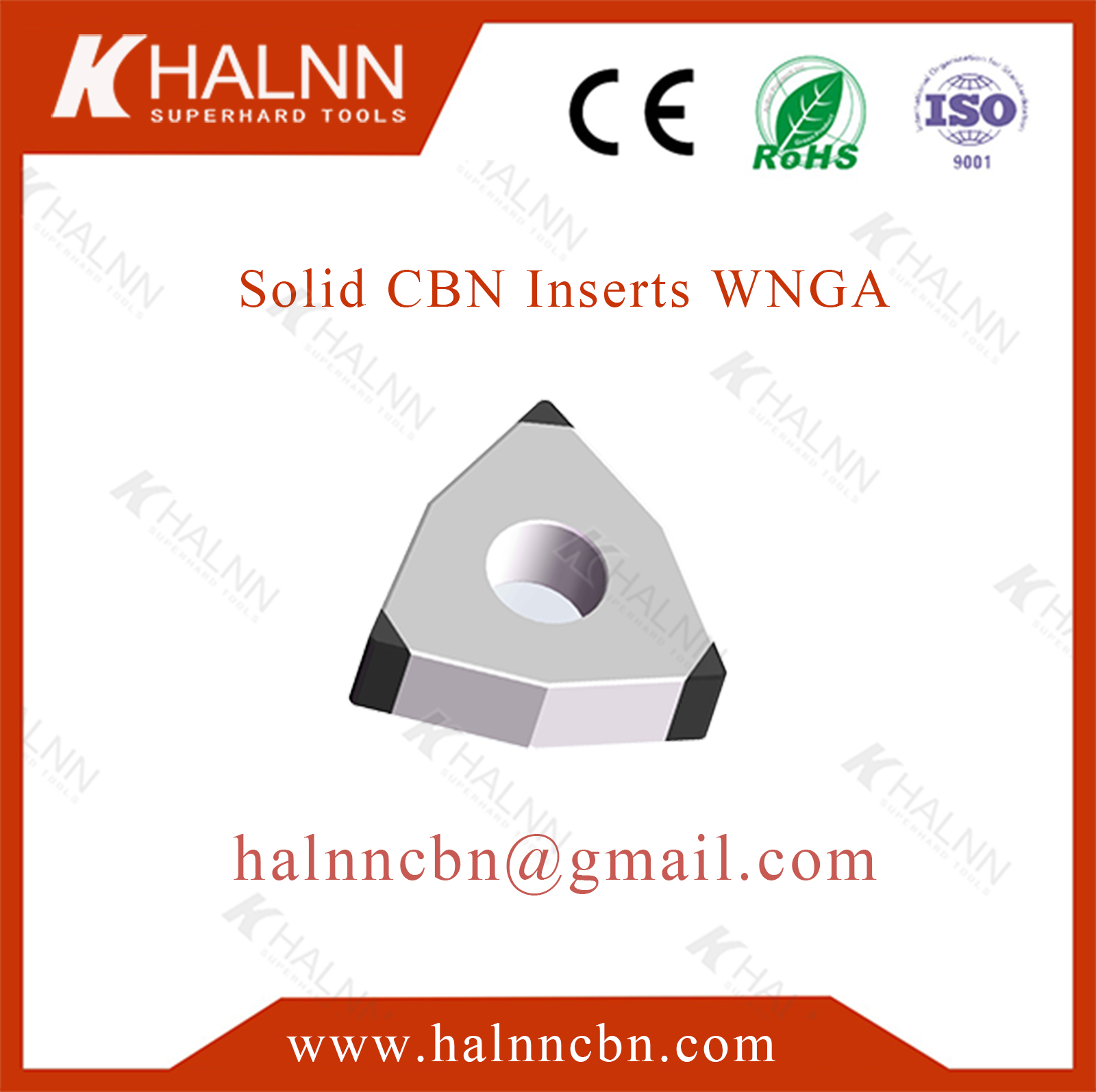 Finishing Pulley with Halnn BN-K20 pcbn inserts