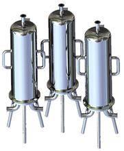Sanitary filter housing