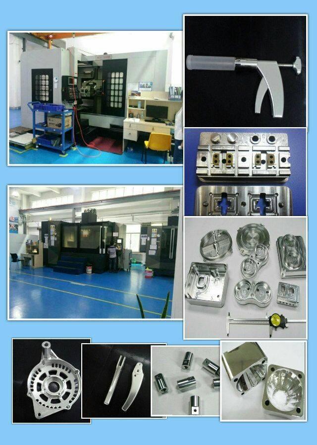 High Quality Custom Made Metal Aluminum Precision CNC Machining Parts