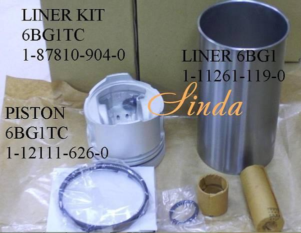 Isuzu 6BG1 1-87810-904-0 liner set