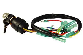 Marine Ignition Starter Switch Push to Choke