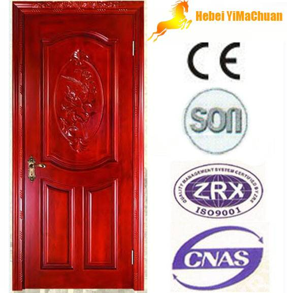 Solid wooden door with cheap price and high quality